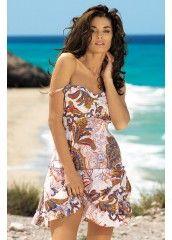 Женский короткий пляжный сарафан марки Mia-Mia арт.16060