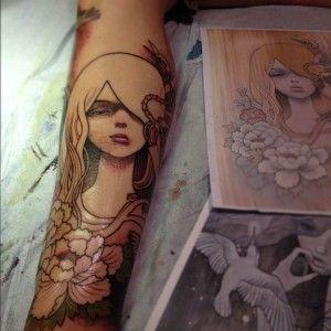 Tattoo by Jeff Gogue - USA