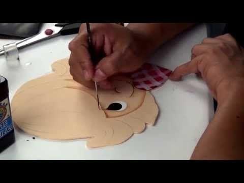 Como pintar caritas y expresiones (3/4) - YouTube