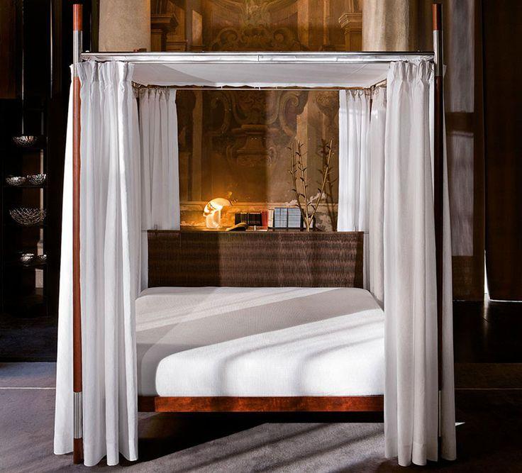 692 fantastiche immagini su camere da letto su pinterest - Letto baldacchino moderno ...