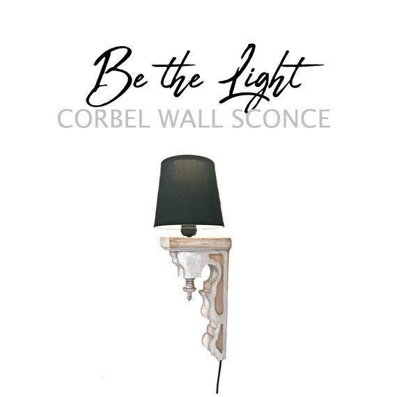 Corbel Wall Lamp Sconce Light Lamp Corbel Corbel Light Sconce Lamp Corbels Sconce Lighting