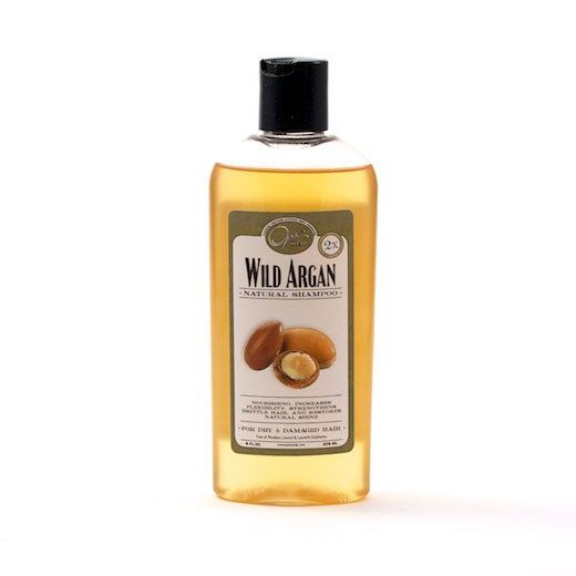 Best Natural Shampoo for color treated hair Wild Argan by opassoap