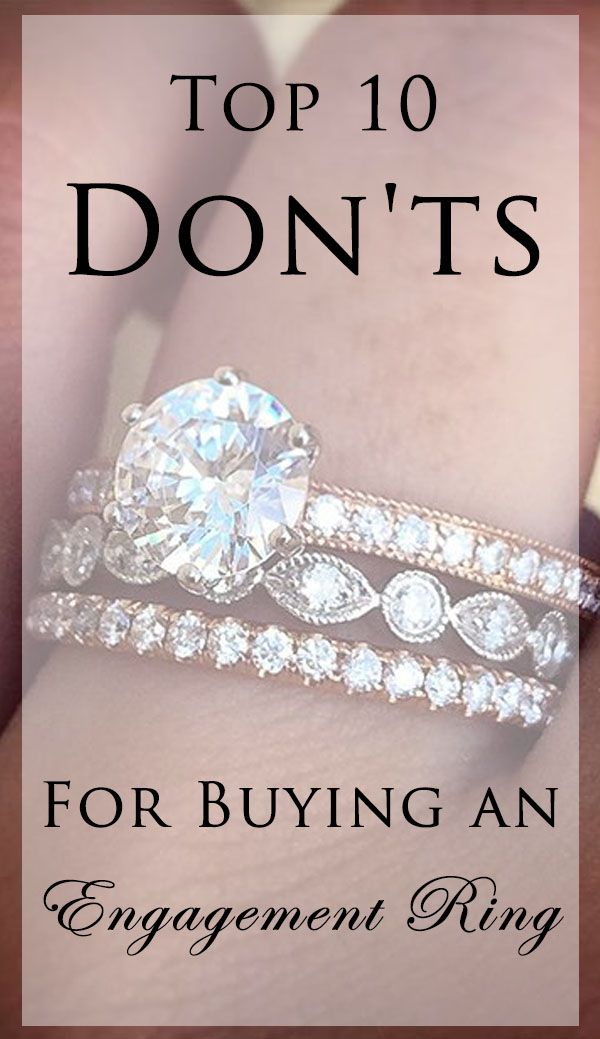 Shopping for an engagement ring? Here are the 10 mistakes we see most often. Avoid these and save thousands.