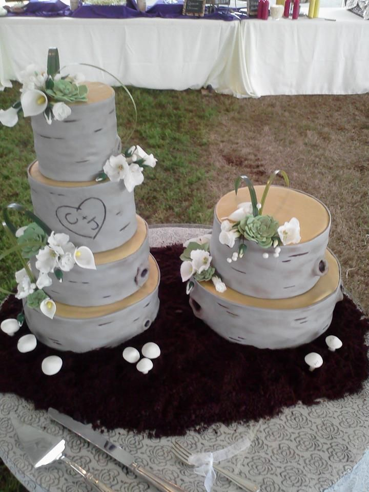 Wild Wedding Cakes
