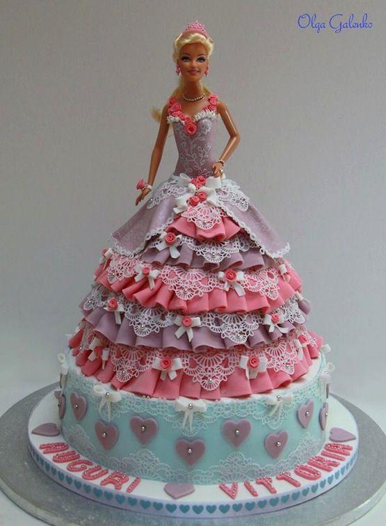 Torte Barbie-Cake - Cakemania, dolci e cake design