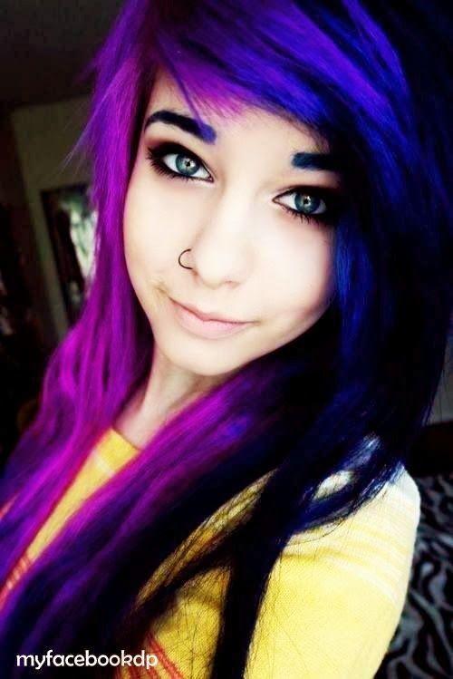Emo Stylish Girl fb dp...