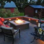, Outdoor Fire Pit Ideas That Will Trans Stamped Concrete Cost Funny Stamped Concrete Patios: