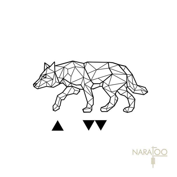объявлений картинка волка из геометрических фигур относится