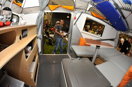 The Cricket Trailer Is A Space Age Mobile Home Designed By NASA Architect Garrett Finney That Packs All Of Comforts Conventional House Int