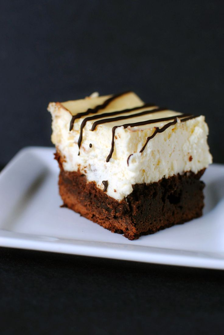 Right from the Boardwalk of Disney, Brownie Cheesecake