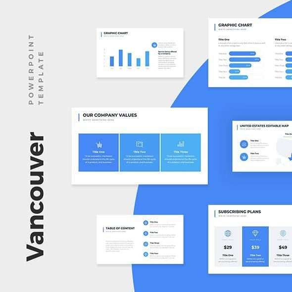 Vancouver Business Pitch Deck PowerPoint Template