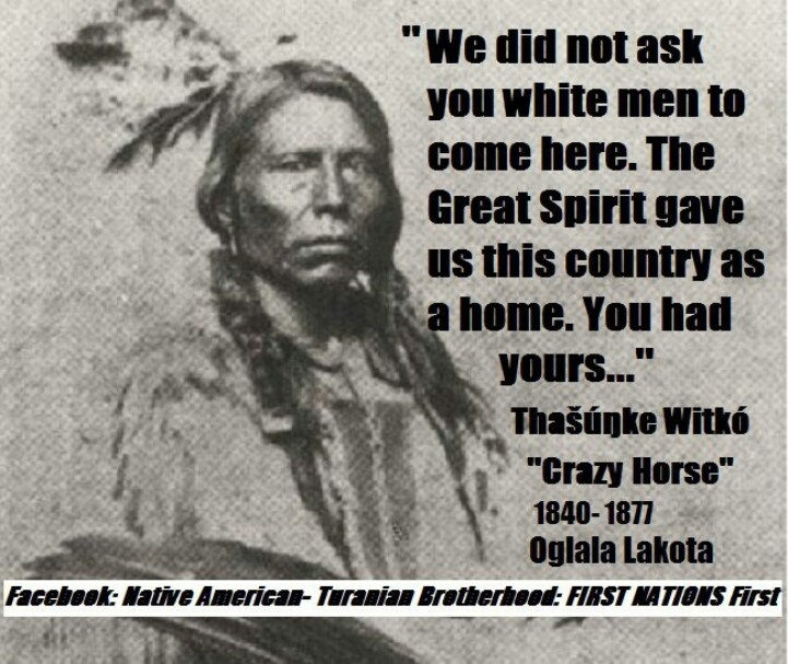 This is however not his picture. There are no known pictures of this great Indian chief.