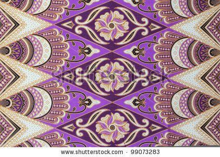 Beautiful batik patterns that become traditional clothes malaysia by hasrullnizam, via ShutterStock