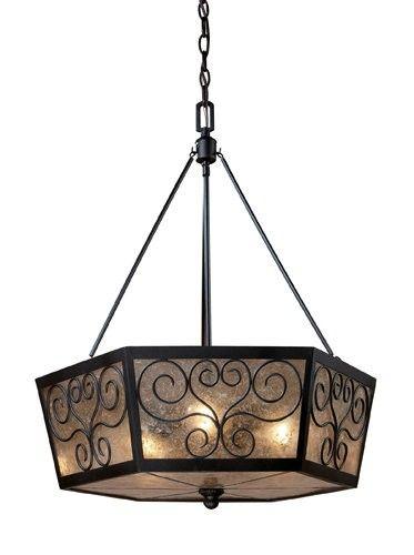 Windolo 3 Light Chandelier In Bronze