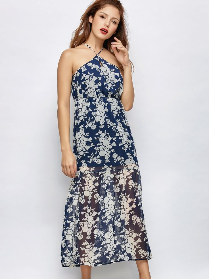 $33.50  Floral Crosscriss Beach Maxi Dress is an amazing beautiful comfortable yet very stylish dress which everyone should have in their wardrobe. #womenshopping #womendresses #minidresses #spring dresses #womenfashion #floraldress