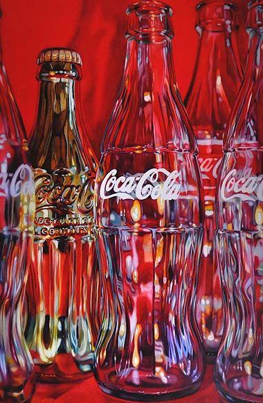 Coca Cola Artwork - Artist Kate Brinkworth, Mark Jason Gallery