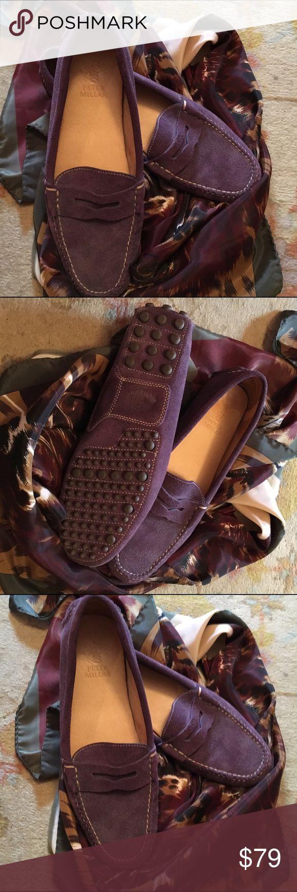 Peter millar suede loafers Peter millar purple suede loafers peter millar Shoes Flats & Loafers