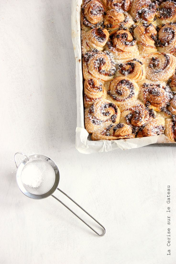 NOT a recipe just inspiration. i'm thinking nutella and nutmeg is the filling... yum! chocOlate rolls