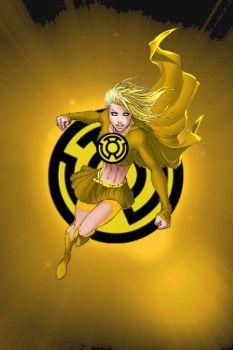 Yellow Lantern Supergirl