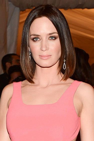 The 10 Prettiest Celeb-Inspired Long Bobs - Emily Blunt