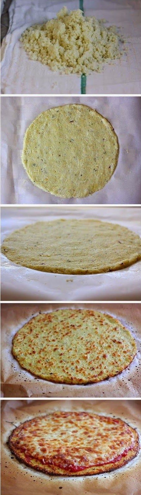 Cook it Quick: The Best Cauliflower Crust Pizza