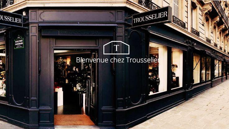 Maison trousselier new website