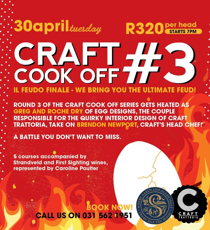 Craft Cook off #3
