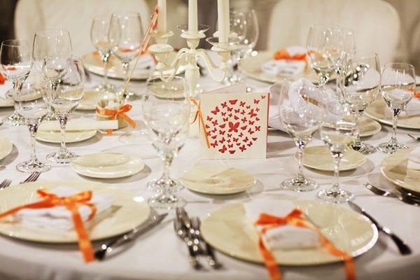 Un matrimonio a tema farfalle: Debora e Francesco
