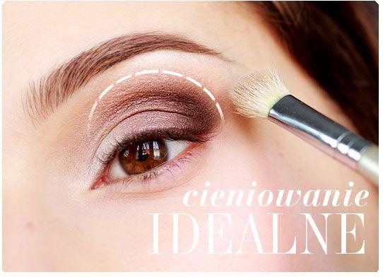 Alina Rose Makeup Blog: Jak rozcierać cienie. Idealne cieniowanie krok po ...