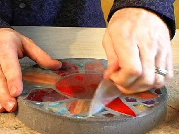 How to Make a Stained Glass Stepping Stone | Easy Crafts and ...