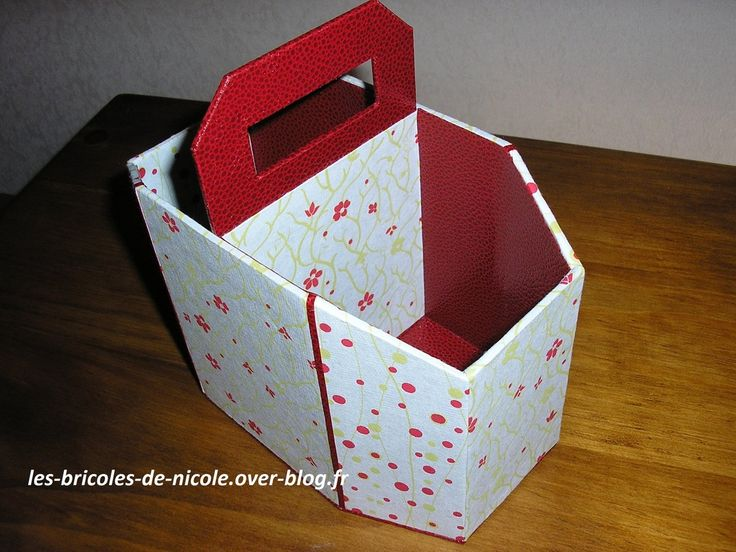 cartonnage boite zapettes cartonnage pinterest cartonnage boite cartonnage et boite. Black Bedroom Furniture Sets. Home Design Ideas