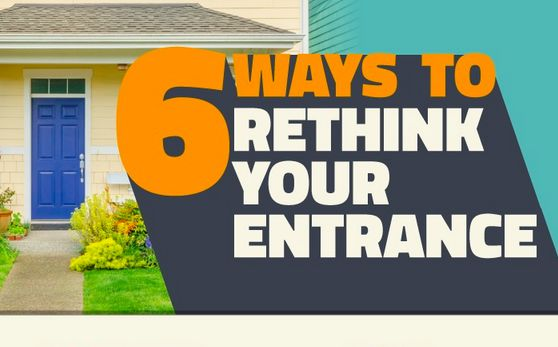 The front entrance is the beginning of your home's story.   So how do you use this space to introduce the narrative of your home? Click the image for 6 inspiring tips!