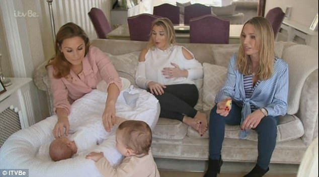 "Bloom N' Blossom's babynest sleep pod bed nest spotted on TV featuring Billie Faiers' baby Arthur in the series ""The Mummy Diaries"":  https://www.youtube.com/watch?v=F8BRyUe7iLA&t=1052s"