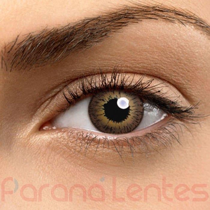 Lentes de Contato Coloridas Visionhitech COLOR VISION Uso cosm�tico, sem grau. Lentes Gelatinosas. Caixa: 2 lentes (1 par).Descarte:�Anual;