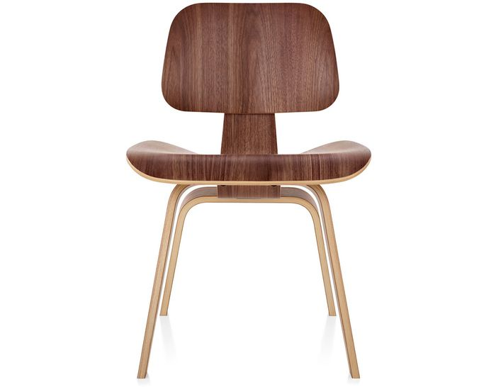 DCW Dining Chair Wood (molded plywood, wood legs) Design Charles & Ray Eames