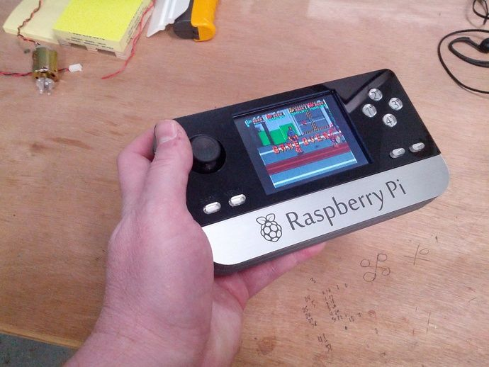 AMAZING Raspberry Pi Portable by benheck - Thingiverse