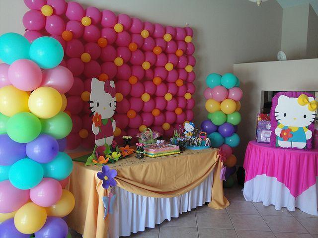73 best hello kitty images on Pinterest Balloon decorations