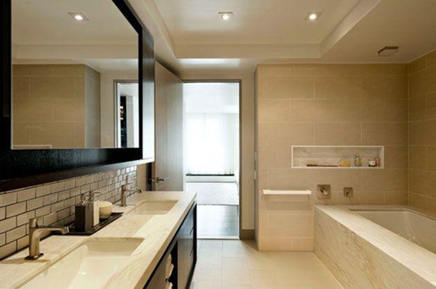 Decora el techo para renovar el estilo del cuarto de baño ...