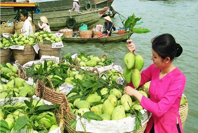 Chợ nổi - du lịch sinh thái sông nước