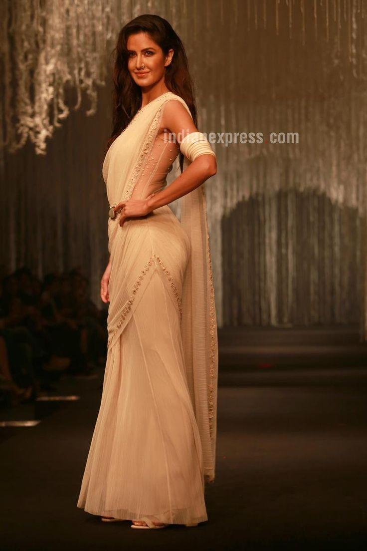 @katrinaatcannes #KatrinaKaif for @tarun_tahiliani www.taruntahiliani.com #SS16 #Saree <3