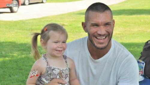 Randy Orton and his daughter   Randy Orton WWE   Pinterest