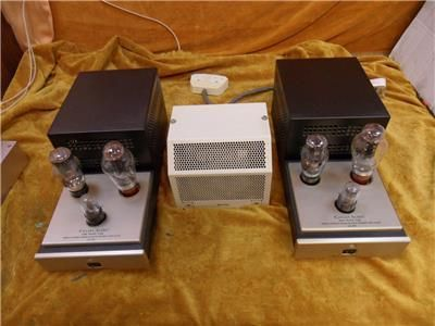 Canary CA300 300B Monoblock Valve Amplifiers - 120 Volt, used for sale, secondhand
