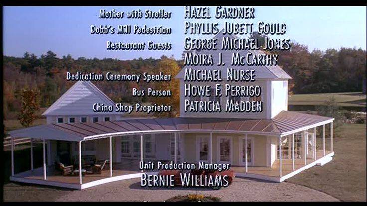 I have always loved this house from HouseSitter w/ Steve Martin ...