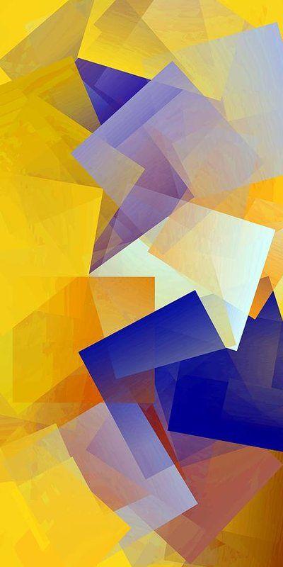 Simple Cubism Abstract 150 Print by Chris Butler. #art #abstract #cubism #artdeco #design #interior #home #Decor #wallart #modern #contemporary #homedecor #abstractart #interiordesign #colorful #canvas #print