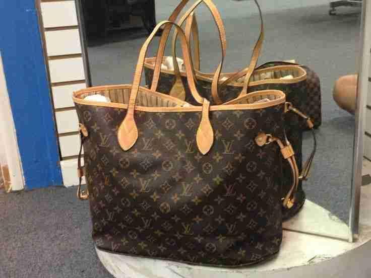 Louis Vuitton Damier Azur Neverfull Louis Vuitton Handbags #lv bags#louis vuitton#bags