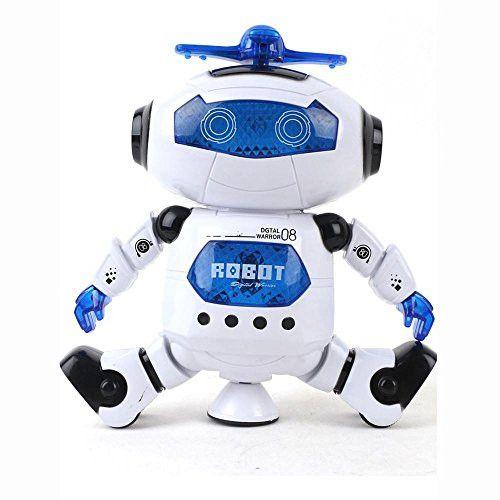 Kids Music Electronic Toys,FTXJ Walking Dancing Smart Astronaut Robot