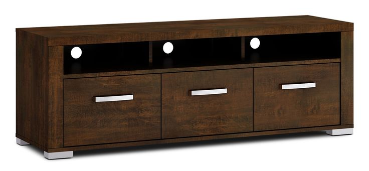 "Entertainment Furniture - Allendale 64"" TV Stand - Java"