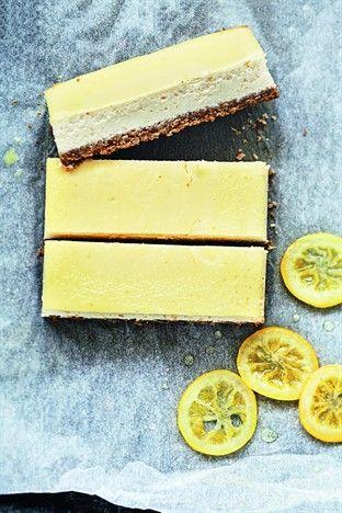 Cheesecake au citron à la ricotta Livre : Cheesecakes comme à New York Ed. Larousse Cuisine
