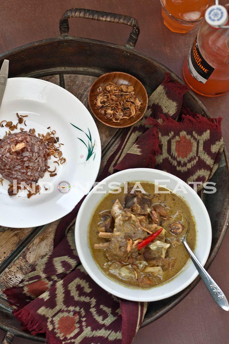 Tongseng Kambing via Indonesia Eats Cuisine indonésienne