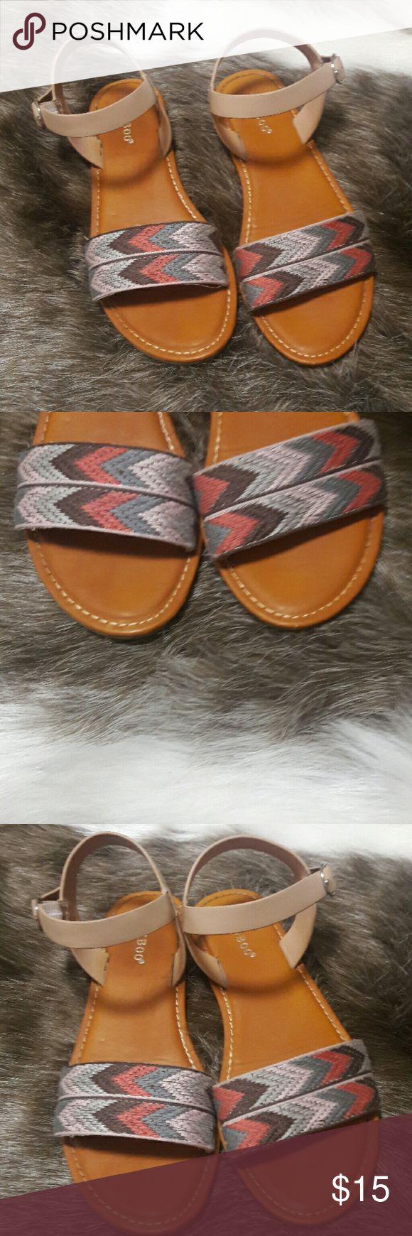 Aztec Flats Aztec Sandals Shoes Sandals